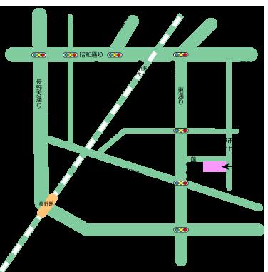 長野障害者福祉センターの地図